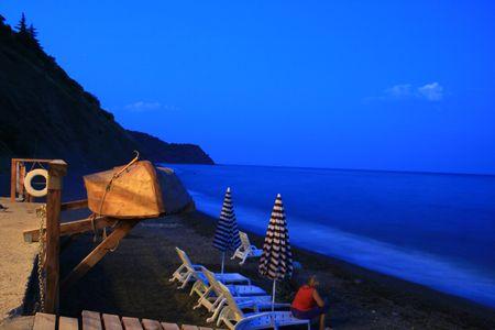 отели Крыма на берегу моря